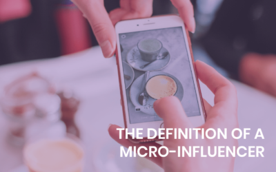 The definition of a micro-influencer