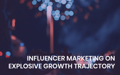 Influencer marketing on explosive growth trajectory