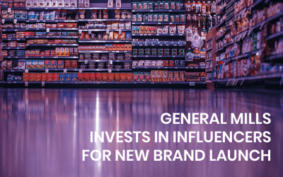 General Mills influencer marketing investment for new brand launch