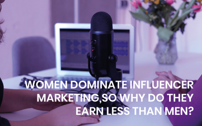 Women dominate influencer marketing, so why do they earn less than men?
