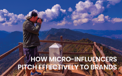 How micro-influencers pitch effectively to brands