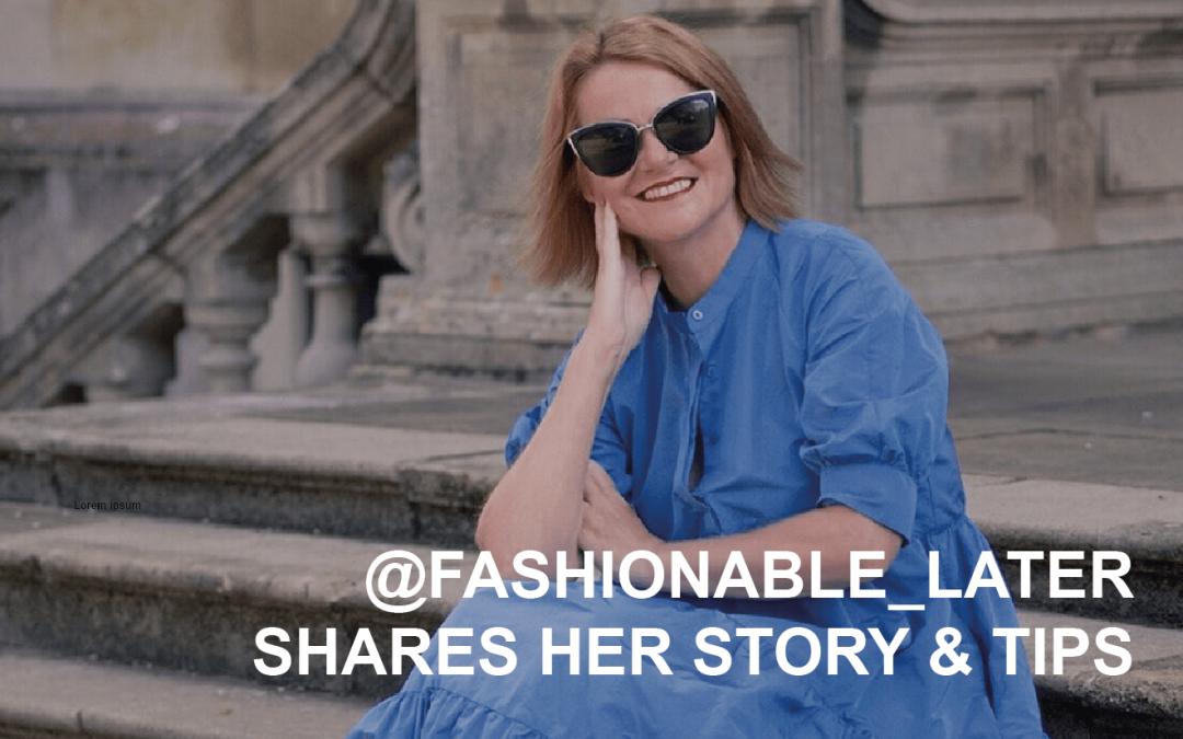 CREATOR Q&A @fashionable_later