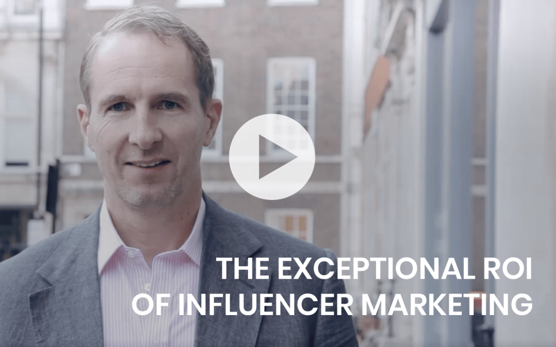 The exceptional ROI of Influencer Marketing