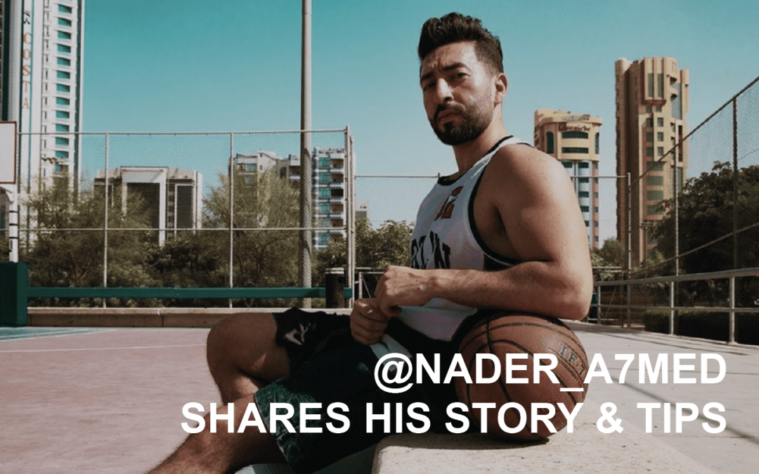 Creator Q&A @nader_a7med shares his story & tips