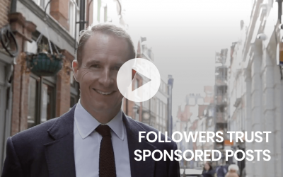 Followers trust sponsored posts