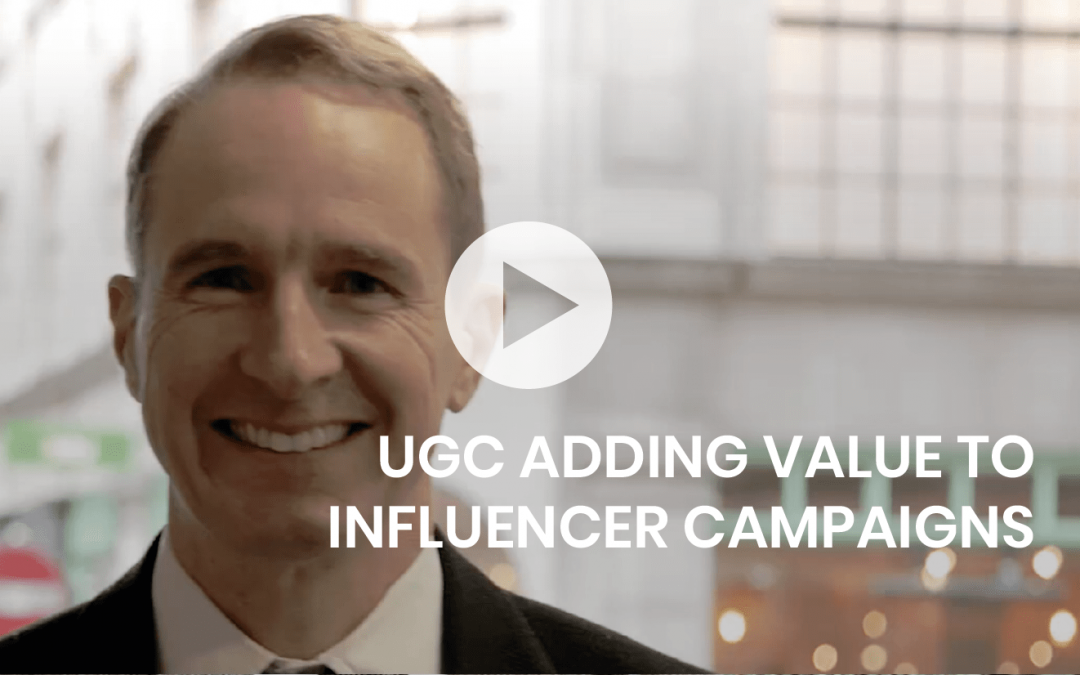 UGC adding value to influencer campaigns