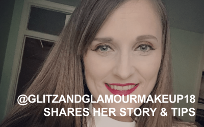 Creator Q&A @glitzandglamourmakeup18 shares her story and tips
